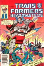 Transformers: The Headmasters: Season 1